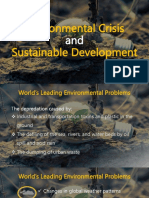 Environmental Crisis and Sustainable Development