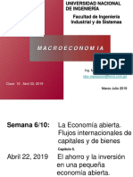 Clase 10 Abril 22 La Economía Abierta