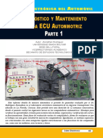 Diagnóstico y Mantenimiento de La ECU Automotriz I