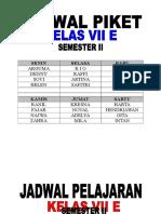 JADWAL VII E.doc