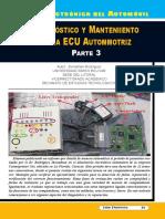 Diagnóstico y Mantenimiento de La ECU Automotriz III