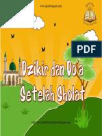 Dzikir Dan Doa Setelah Sholat untuk anak..pdf