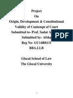 Contempt Law Final