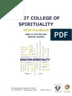 Jesuit College of Spirituality - Melbourne_2018 Handbook