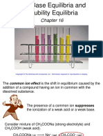 Acid Base Equilibria and Solubility Equilibria