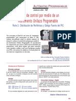SE223 Lección 13 Módulo de Control Por Medio de Un Instrumento Unilazo Programable 02 Distribución de Periféricos y Código Fuente Del PIC
