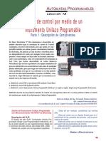SE222 Lección 13 Módulo de Control Por Medio de Un Instrumento Unilazo Programable 01 Descripción de Componentes