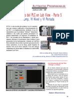 SE221 Lección 12 El Programa Del PLC en LabView 05 VI Temp, VI Nivel y VI Portada