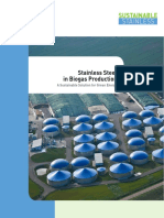 ISSF Stainless Steel in Biogas Production