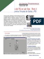 SE220 Lección 12 El Programa Del PLC en LabView 04 Los Instrumentos Virtuales de Salida y PID