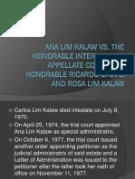 Kalaw vs Iac Specpro Report