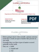 Plasma Antenna ppt