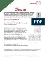 Aktivstop Verschlussstoepsel Platinum 100 EA DEDE