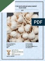 Garlic Market Value Chain Profile 2017