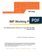The Global Economic Recovery 10 Years After the 2008 Financial Crisis