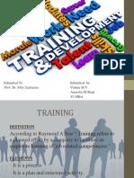 Training and Development Ppt