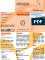 Blender Brochure English