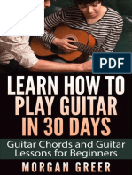 Learn How to Play Guitar in 30 Days