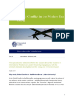 Global Conflict in the Modern Era (MA)-En