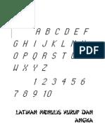 LATIHAN MENULIS HURUF DAN ANGKA.pdf