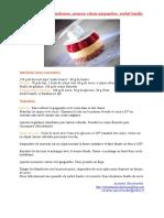Transparence de framboises, mousse citron-gingembre, sorbet basilic.doc