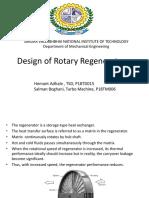 Rotary Regenerator