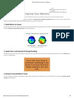 20 Study Hacks to Improve Your Memory