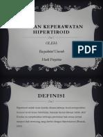 ASUHAN KEPERAWATAN HIPERTIROID