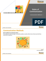 Communication Methods- Types