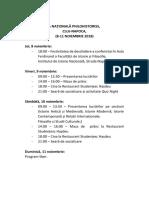 Program Conferinta 2018 Modificat