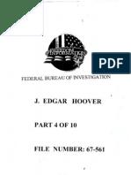 FBI Dossier of J. Edgar Hoover (FOIA Declassified), Part 4a