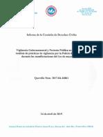 Vigilancia Gubernamental y Protesta Pública en Puerto Rico - Informe de la Querella Núm. 2017-04-16861