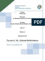 Informe Final de Cancer Gastrico