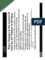 API Spec 5L Comparison 4