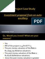 Case Study Auto Industry