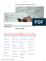 Video Links List How to Draw_ Drawing and Sketching