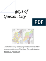 Barangays of Quezon City - Wikipedia
