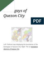 Barangays of Quezon City - Wikipedia