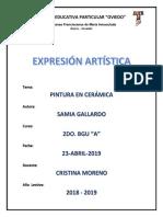 Informe Ceramica Sami