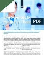 Factsheet Life Sciences & Health in Thailand