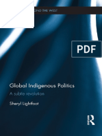 21. Global Indigenous Politics. a Subtle Revolution. II.en.Es