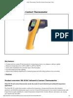 HVAC Thermometer _ Fluke 561 Infrared Thermometer _ Fluke