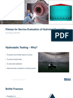5. Force - Fitness for Service Evaluation of Hydrotest Exemption