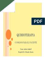 Acercamiento Farmaceutico Al Paciente Oncologico Formulas Para Mucocitis