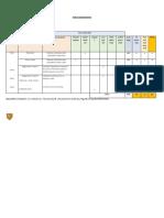 1° prueba 7 tabla de Especificacione