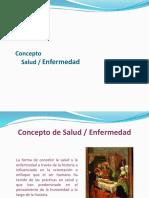 1 Concepto Salud y Enfermedad.