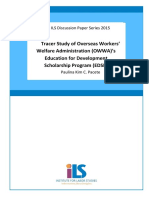 WP s.2015 EDSP Tracer Study