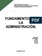 1. Fundamentos de la Administración