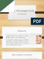 Taller Mesoterapia Facial