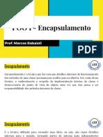 POO I - Encapsulamento